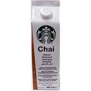 Starbucks chai syrup 300x300 - スタバのシロップ全種種を紹介!シロップ追加や変更・増量カスタマイズも解説