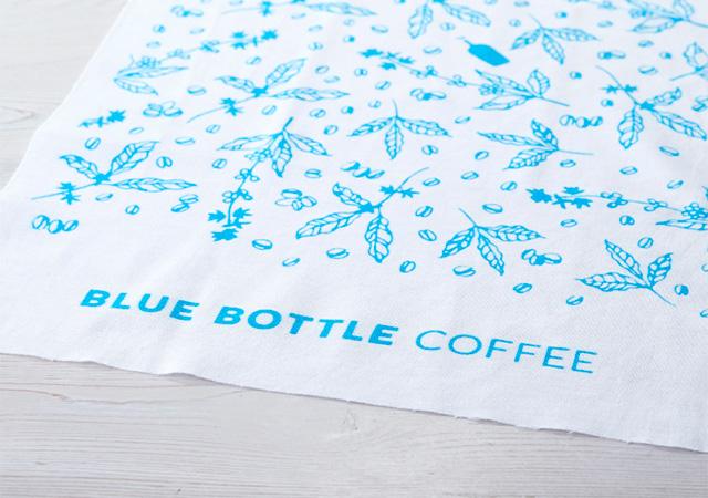 Blue Bottle Coffee Washcloth - ブルーボトルコーヒー夏限定グッズ「清澄グラスマグ」無くなり次第終了