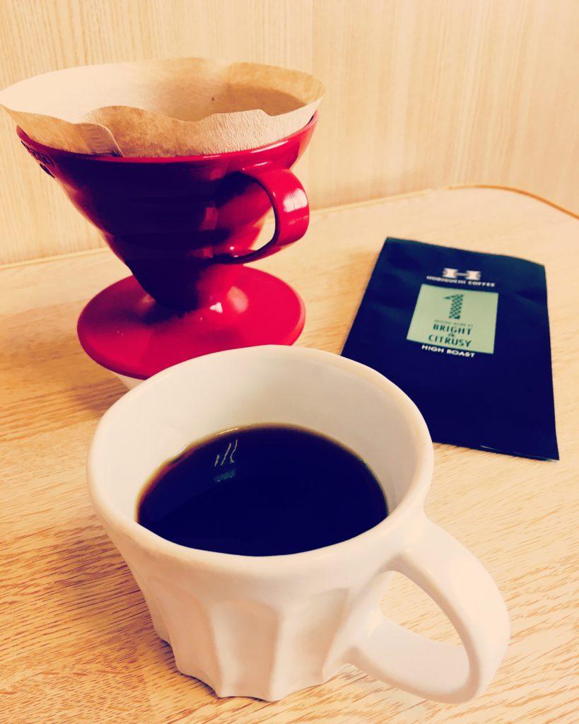 Horiguchi coffee blend 1 hario 819x1024 - 堀口珈琲のブレンド#1は評判通りおいしい?正直に述べてみた