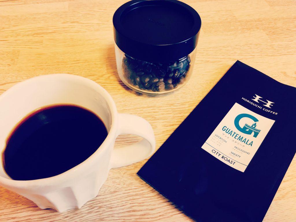 Horiguchi coffee guatemala Santa Catarina 1 1024x768 - 堀口珈琲は評判通り美味しい?グァテマラを通販購入してみた