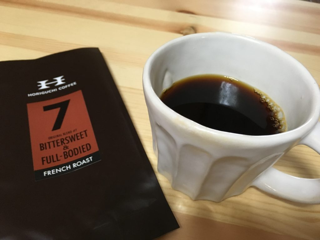 IMG 8003 1024x768 - 堀口珈琲のコーヒー豆「ブレンド#7フレンチロースト」味の感想