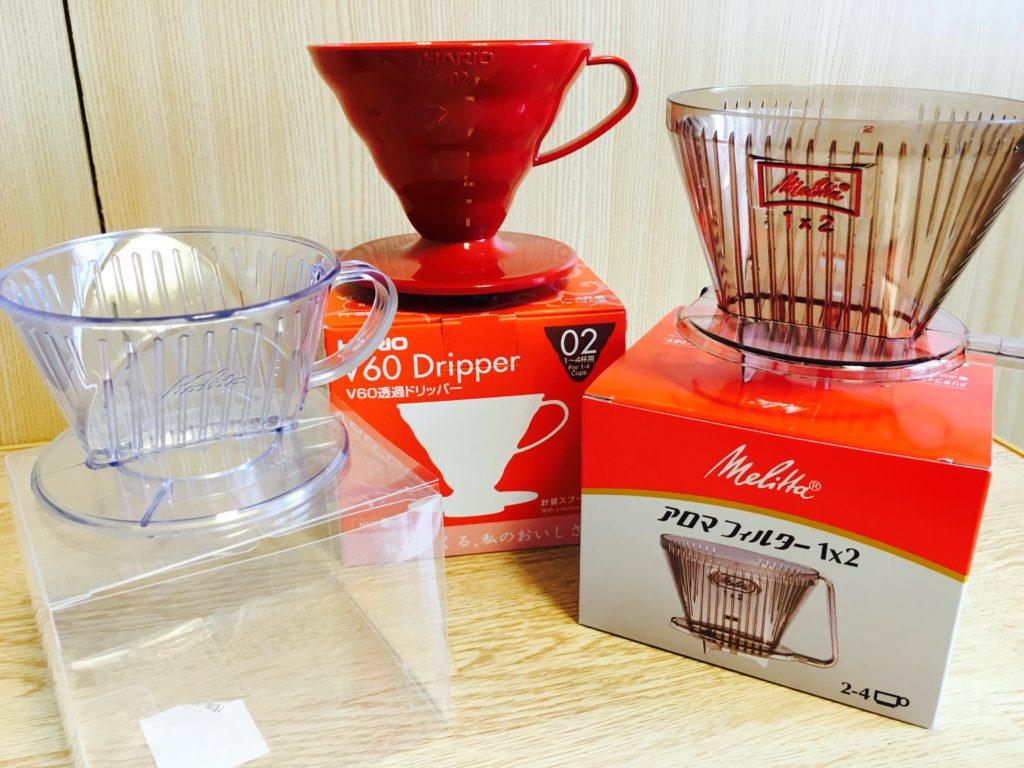 dripper 1024x768 - 堀口珈琲って評判どおり美味しい?ブレンドコーヒー豆#3を通販購入