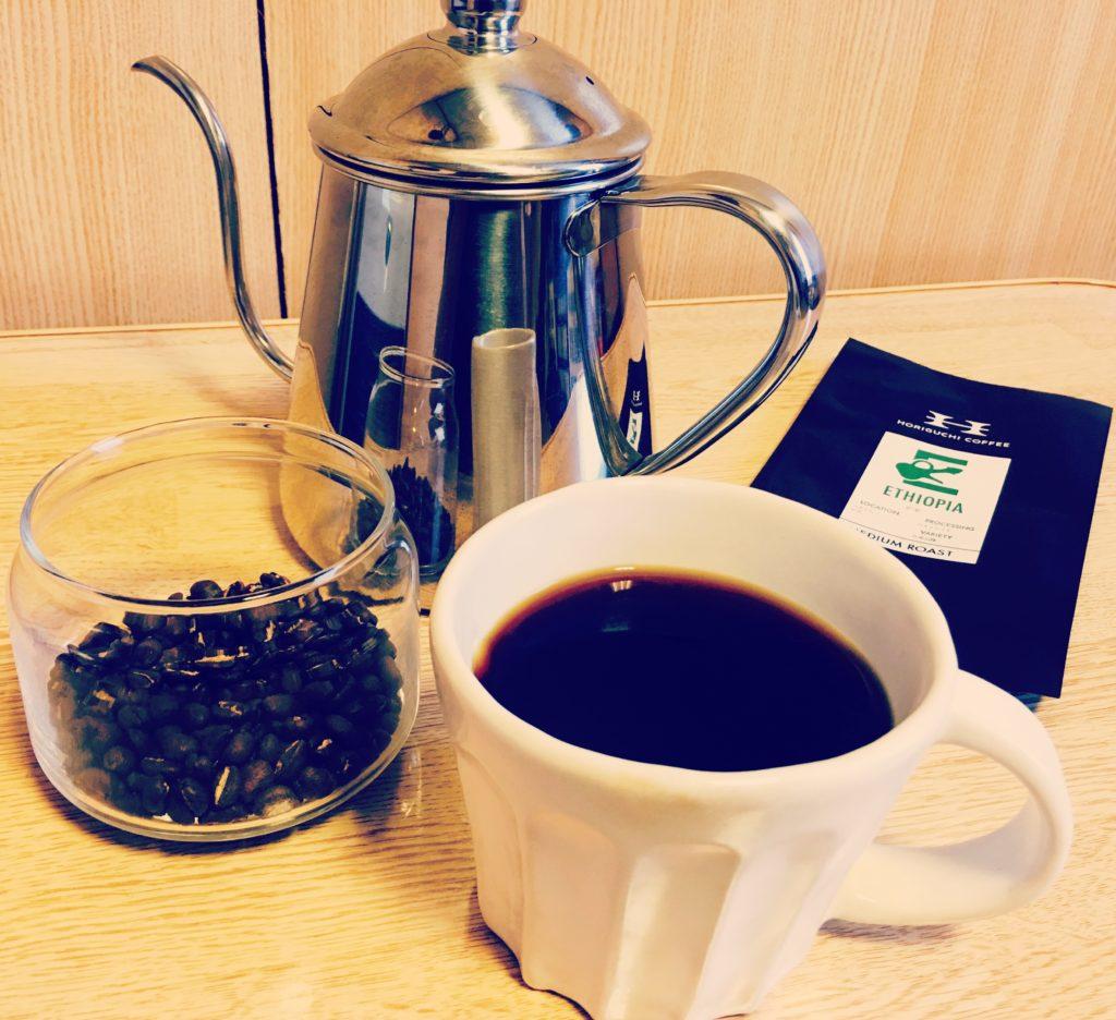 horiguchi coffee 1024x936 - 堀口珈琲は評判通り美味しい?エチオピアを通販購入してみた