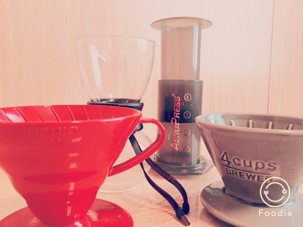 20170921Drippers 1024x768 - ブルーボトルコーヒーの豆ジャイアントステップスの風味をレビュー