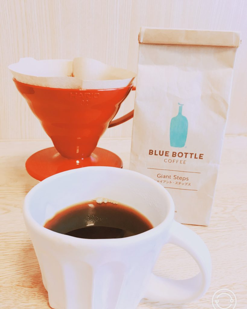 Bluebottlecoffee giant steps4 819x1024 - ブルーボトルコーヒーの豆ジャイアントステップスの風味をレビュー