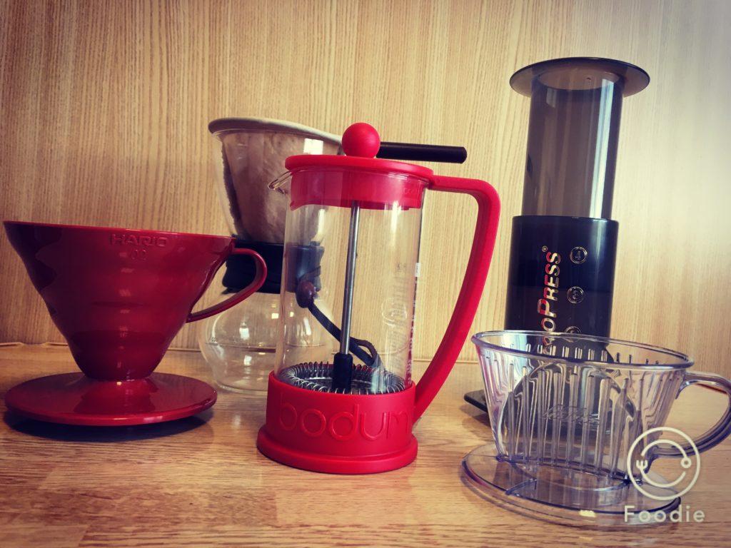 Coffee dripper 1024x768 - おいしいと評判の丸山珈琲のスマトラ豆を取り寄せて飲んでみた