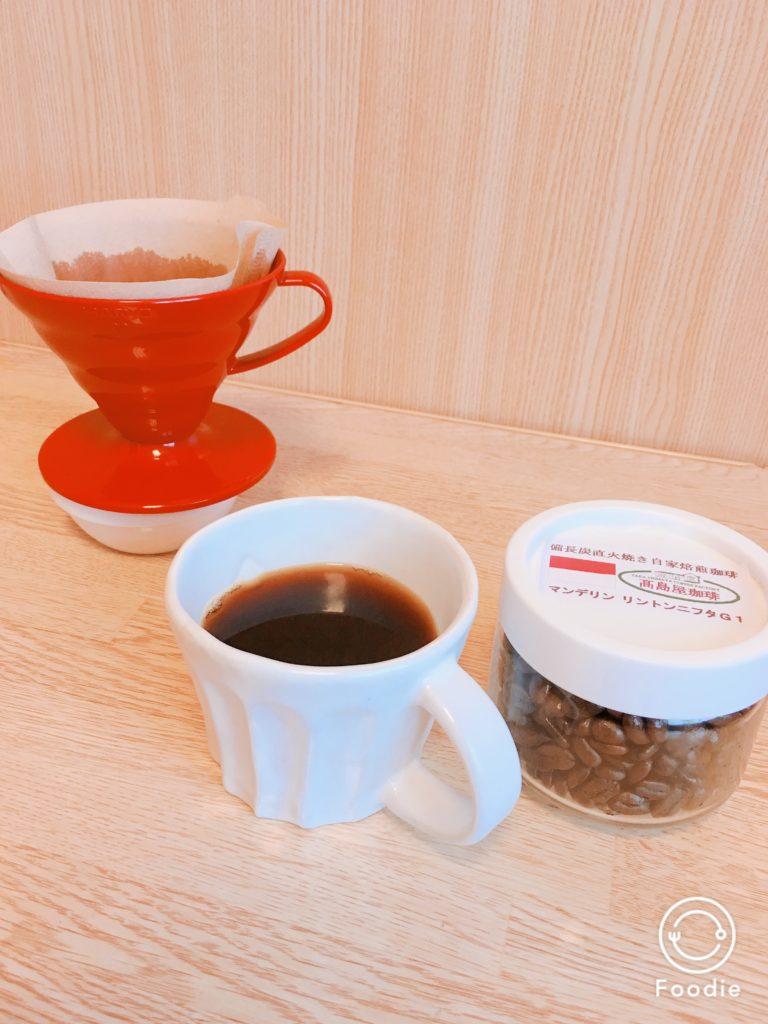 Takashimaya coffee mandheling3 768x1024 - コーヒー通が買いだめする高島屋珈琲の炭火焙煎マンデリンをレビュー