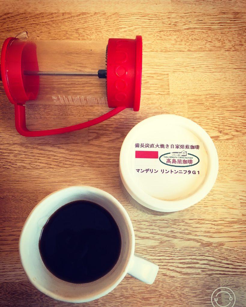 Takashimaya coffee mandheling6 819x1024 - コーヒー通が買いだめする高島屋珈琲の炭火焙煎マンデリンをレビュー
