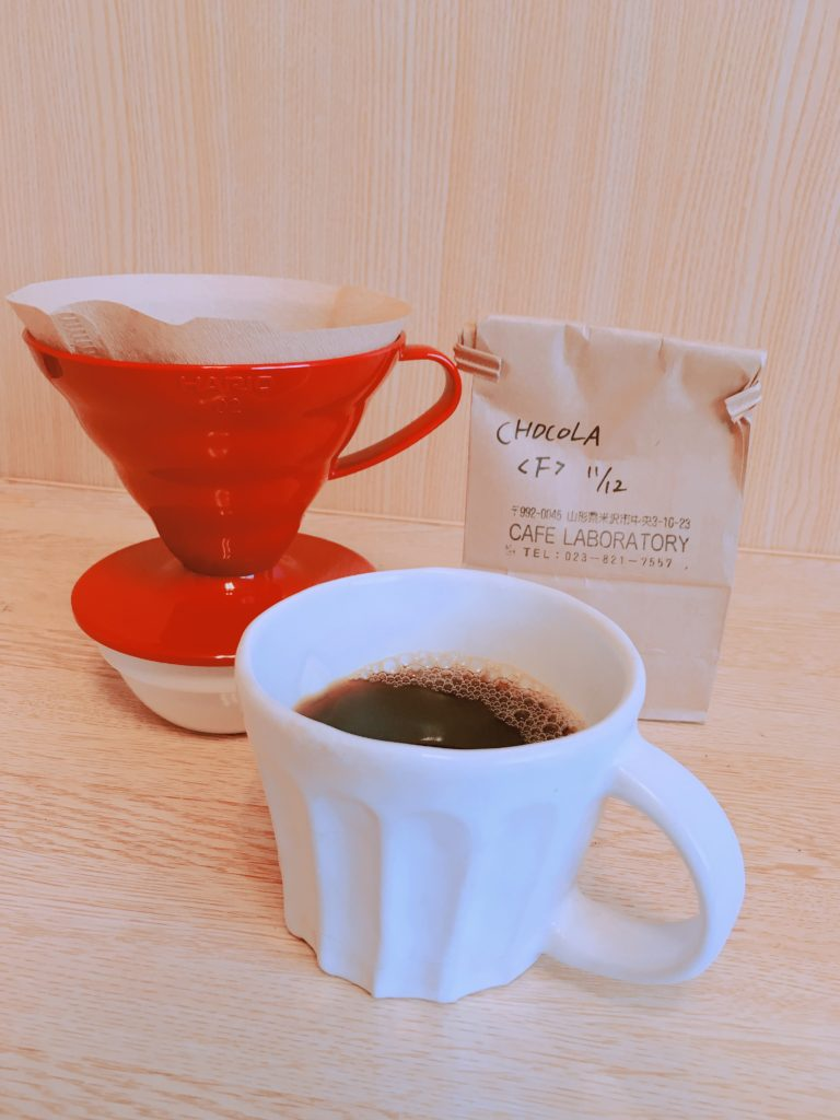 cafe laboratory brazil chocolat2 768x1024 - 山形・CAFE LABORATORYのブラジルショコラを飲んでみた