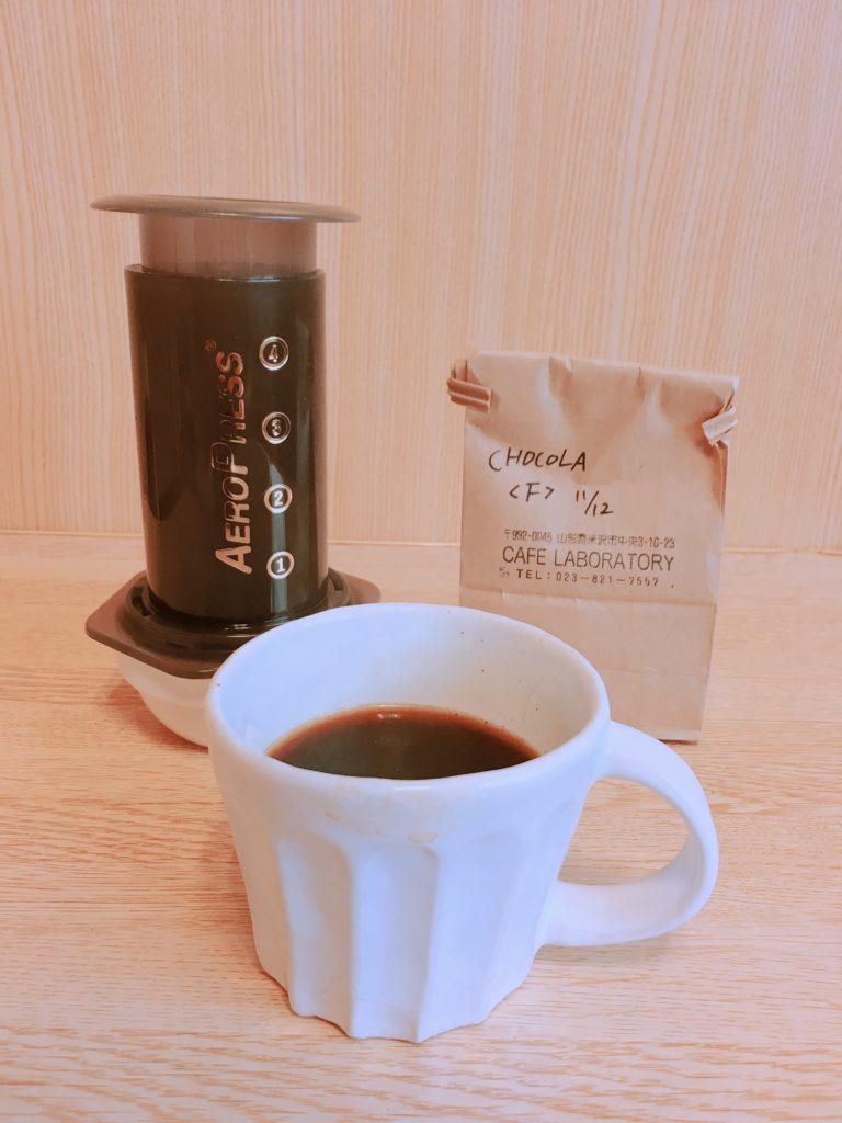 cafe laboratory brazil chocolat3 768x1024 - 山形・CAFE LABORATORYのブラジルショコラを飲んでみた