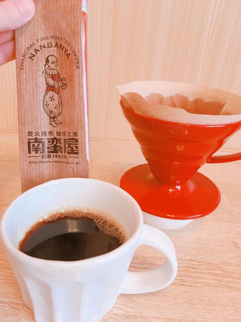 nanbanya Brazil chocolat3 768x1024 - 南蛮屋のコーヒー豆「ブラジルショコラ」を4つの抽出器具で飲み比べてみた