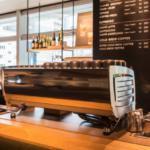 starbucks espresso machine3 150x150 - スタバのリストレットはコーヒーの旨味やコクを抽出して苦味を抑える方法