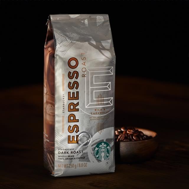 スタバのコーヒー豆 エスプレッソロースト