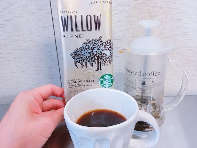 スタバのコーヒー豆 ウィローブレンド