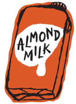 アーモンドミルクに変更(終売)