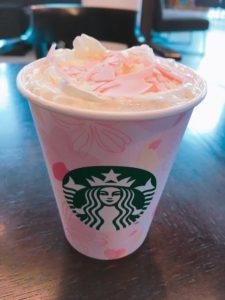 starbucks strawberry latte 225x300 - スタバさくら2018フラペチーノ、ミルクラテ、ピンクティーの感想・カスタマイズ