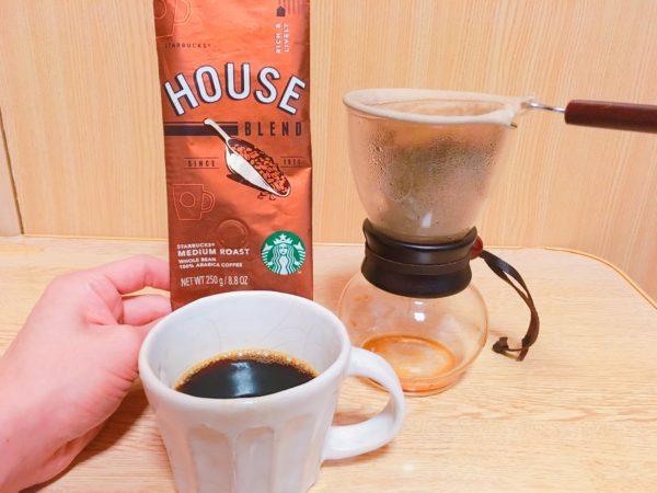 starbucks houseblend7 600x450 - スタバのコーヒー豆「ハウスブレンド」を飲んだ感想を正直に述べる