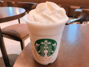 starbucks white brew coffee macadamia frappuccino2 300x225 - スタバのフラペチーノベース(コーヒー・クリーム・ティー)