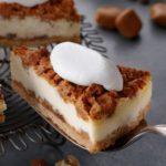 ナッツ&キャラメルチーズケーキ