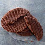 チョコレートキャラメルワッフル