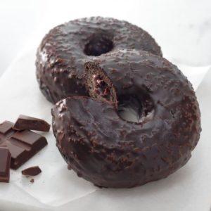 Starbucks chocolate cream donut 300x300 - スタバ新作フード6品の感想|2020年12月26日発売