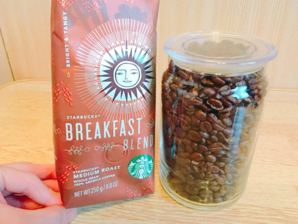 IMG 0639 600x450 - スタバのコーヒー豆「ブレックファーストブレンド」飲んだ感想を正直に述べる
