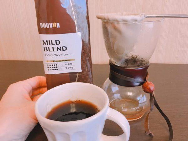 IMG 1002 600x450 - ドトールのコーヒー豆「マイルドブレンド」はおすすめしない?感想を正直に述べる