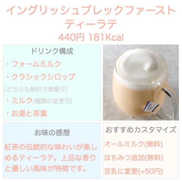 Starbucks English Breakfast Tea Latte 600x600 - スタバ【イングリッシュブレックファーストティーラテ】カスタマイズ・カロリー