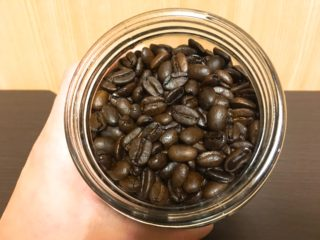 IMG 3340 320x240 - プリンスコーヒーのマンデリンを飲んだ感想【コーヒー豆通販レビュー】