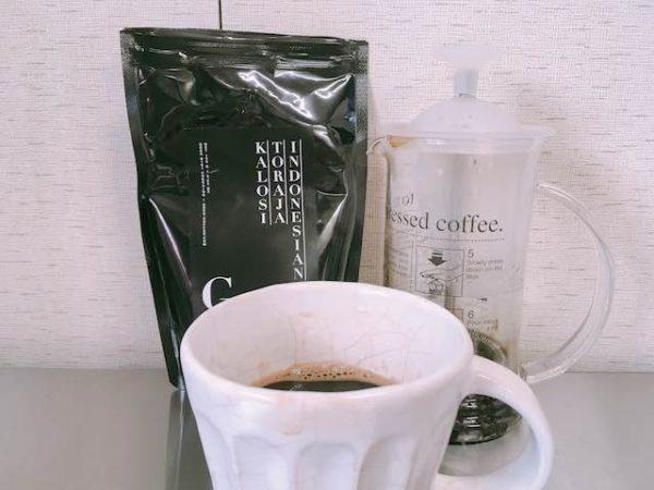 IMG 5524 600x450 - ゴーシュのコーヒー豆トラジャカロシ キャラメルやチョコレートのような甘いコーヒーです