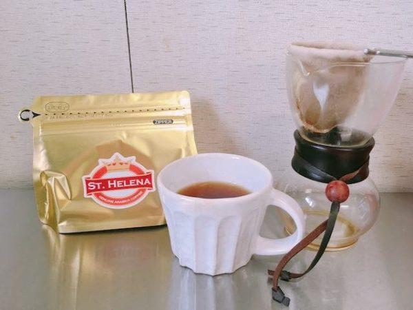 IMG 5584 600x450 - コーヒー豆「セントヘレナ バンブーヘッジ」100g6,000円の希少銘柄は紅茶のようなコーヒー