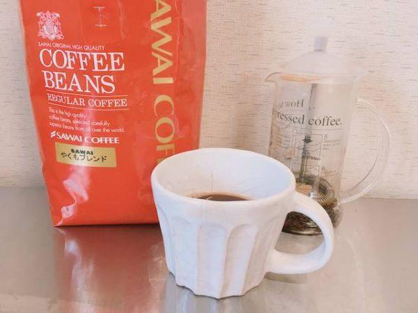 IMG 5650 600x450 - 澤井珈琲のコーヒー豆やくもブレンドを飲んだ感想を正直に述べる