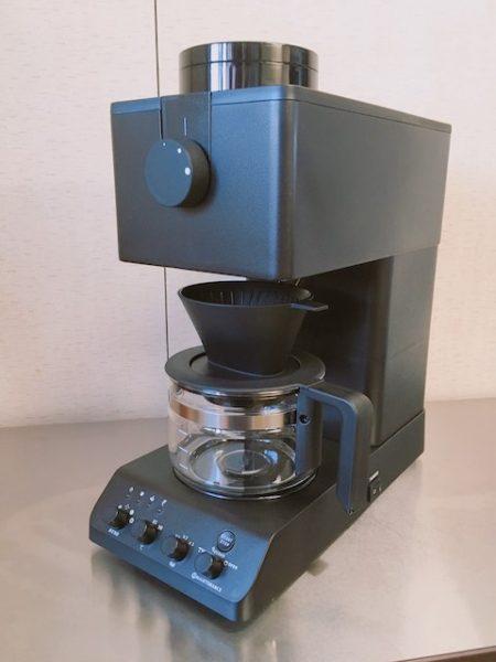 ツインバードの全自動コーヒーメーカーCM-D457B