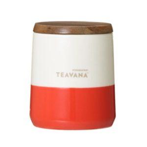 TEAVANA ウッドリッド付カップオレンジ