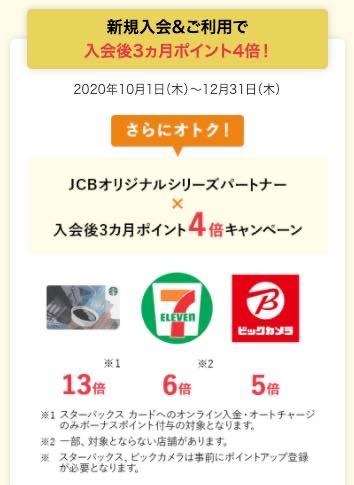 スタバ クレジットカード JcbCardW