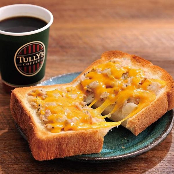th tuna cc toast 180314 600x600 - タリーズ【厚切りトースト ツナチェダーメルトセット】カロリーや感想