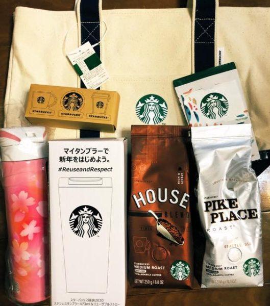 th Starbucks luckybag2020 14 529x600 - スタバ福袋2020中身を全パターン一挙公開!ハズレ福袋は総額2000円安い