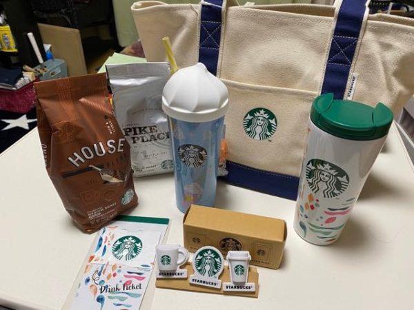th Starbucks luckybag2020 8 600x450 - スタバ福袋2020中身を全パターン一挙公開!ハズレ福袋は総額2000円安い