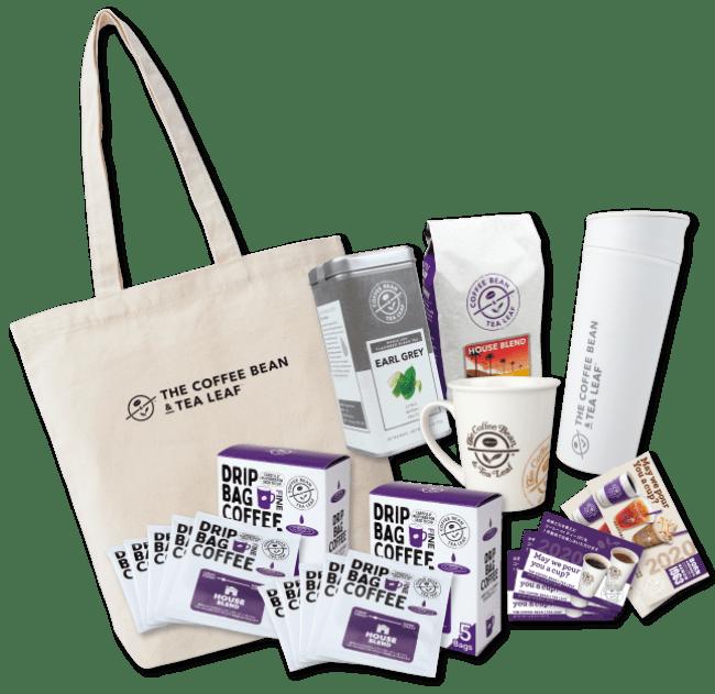 Coffee bean tea leaf lucky bag 2020 2 - コーヒービーン&ティーリーフ福袋2020はタンブラー、コーヒー豆、ドリンクチケットなど豪華内容
