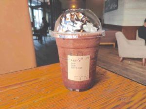 Chocolate with almond praline Frappuccino 2 300x225 - スタババレンタイン2020チョコフラペチーノ&ラテのカスタマイズ・カロリー