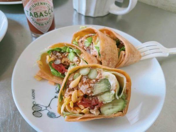 メキシカンアボカド サラダラップ