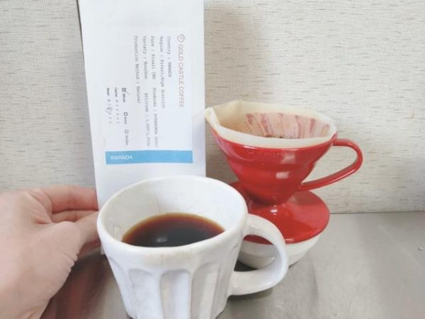 th Gold Castle Coffee Rwanda Kinaj 9 600x450 - 【箕面】ゴールドキャッスルコーヒーの豆を購入した正直な感想