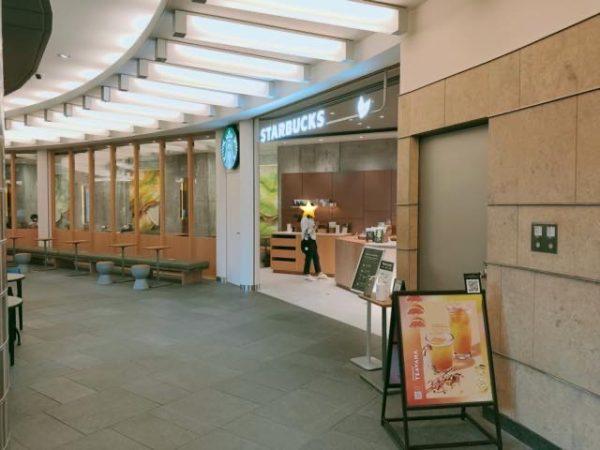 スターバックスコーヒー メトロハット ハリウッドプラザ店の雰囲気