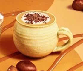 スタバ新作チョコレートマロンラテ