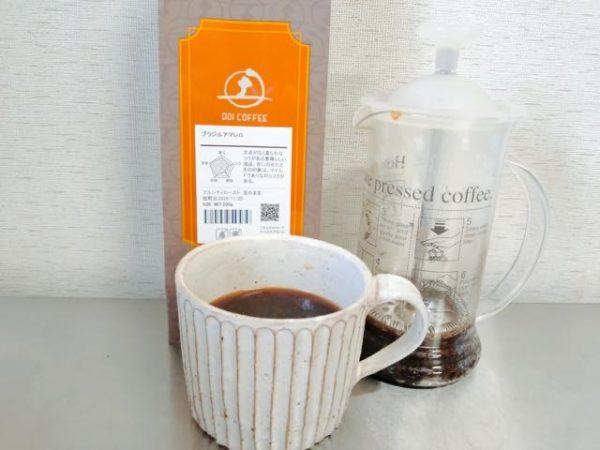 Doi Coffee Brazil Amarello 3 600x450 - 土居珈琲のコーヒー豆「ブラジルアマレロ」を飲んだ感想を正直に述べる