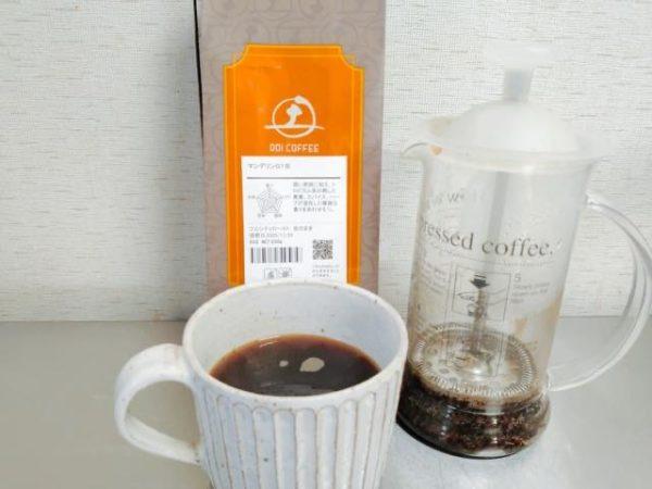 th Doi Coffee Mandelin G1 5 600x450 - 土居珈琲のコーヒー豆「マンデリンG1」を飲んだ感想を正直に述べる