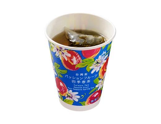 ローソン新作 台湾茶パッションフルーツ四季春茶
