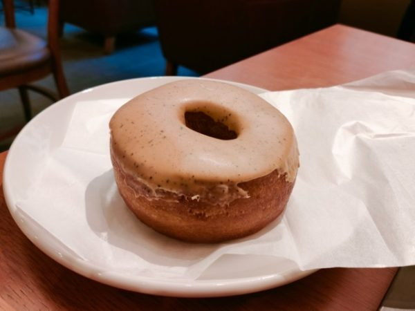 Starbucks Earl Gray Milk Cream Donut2 600x450 - スタバ新作フード6品の感想|2020年12月26日発売