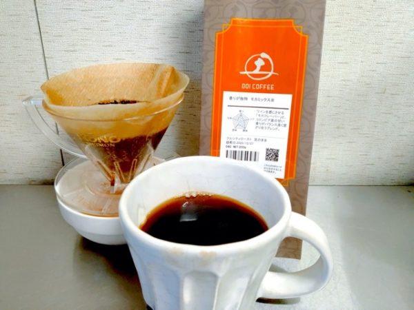 th Doi Coffee Mocha Mix 4 600x450 - 土居珈琲のコーヒー豆「モカミックス」を飲んだ感想を正直に述べる