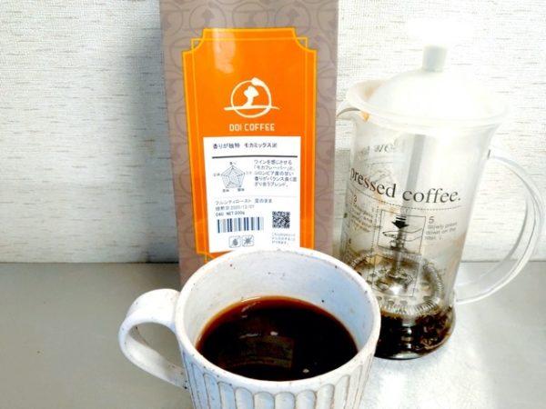 th Doi Coffee Mocha Mix 5 600x450 - 土居珈琲のコーヒー豆「モカミックス」を飲んだ感想を正直に述べる